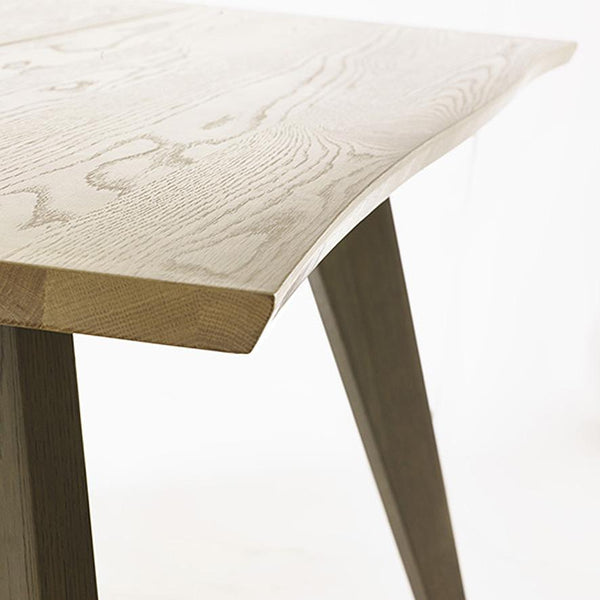 Cadell: Dining Table in American Knotty Oak - Modern Home Furniture