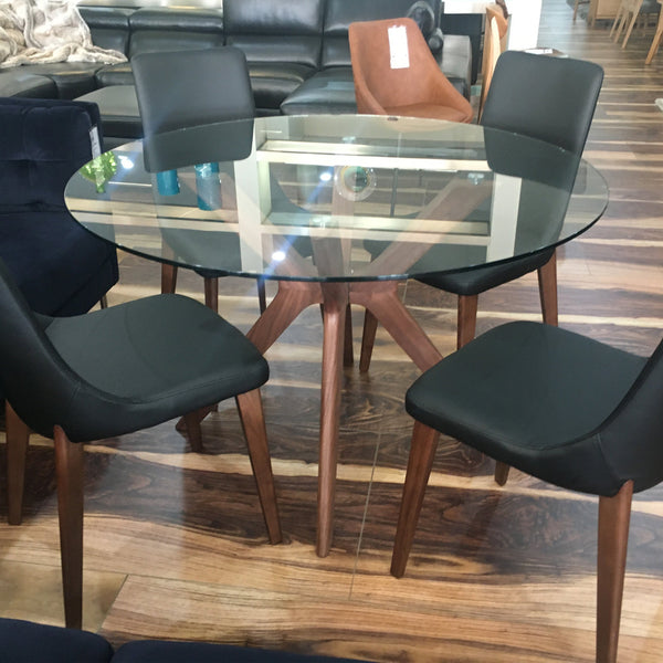 Cayman : Dining Chair Upholstered with Timber Legs