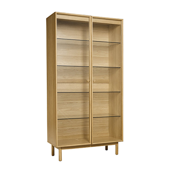 Kyoto: Shelf Unit in American White Oak - Modern Home Furniture