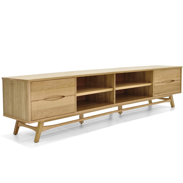 Felix : TV Unit in Wormy Chestnut