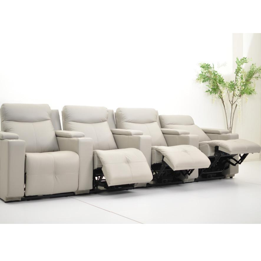Galaxy Leather Theatre Sofa Electric Recliners