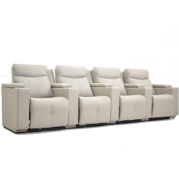 Galaxy : Leather Theatre Sofa Electric Recliners