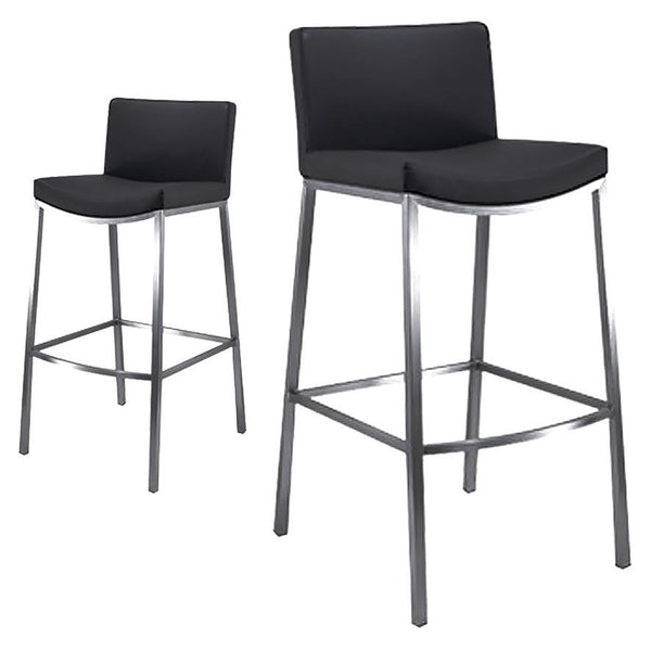 Jessie : Stainless Steel Bar Stool - Modern Home Furniture
