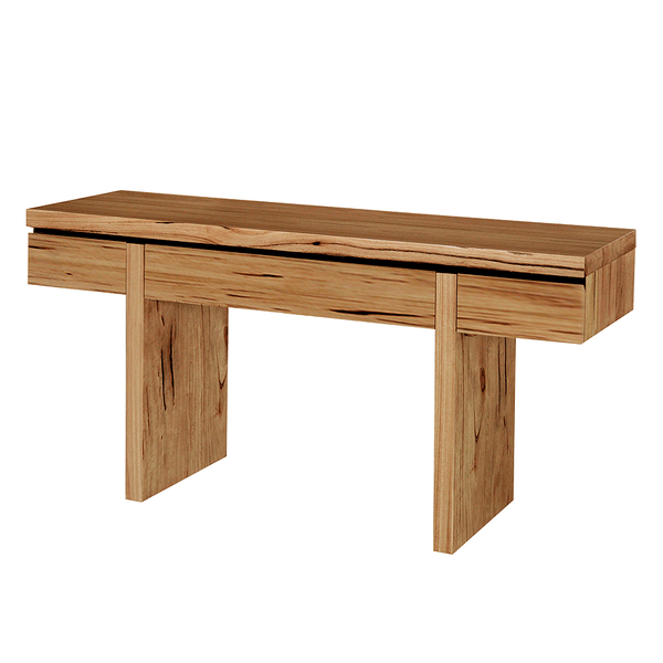 Sienna Console Table in Messmate Hardwood Modern Design