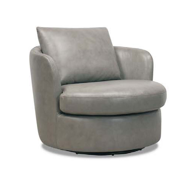 Sky : Accent Chair grey leather