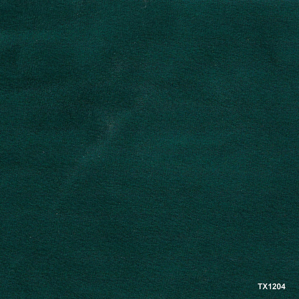 Teal velvet sample