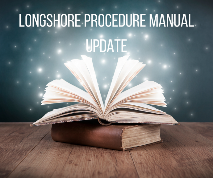 Longshore Procedure Manual Update (emailed version)