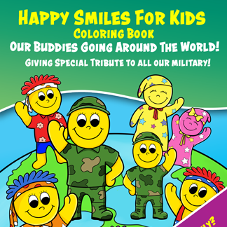 Military Buddy Coloring Book