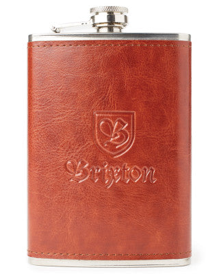 Brixton Label Flask