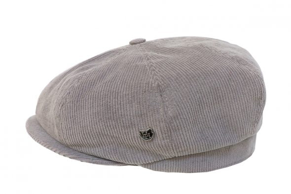 Hills Hats San Fran Caddy Cap - Grey