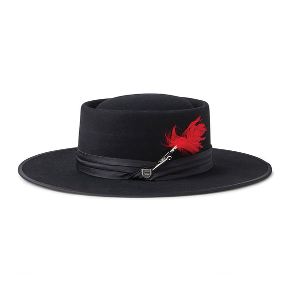 Brixton Fender Flood Fedora - Mystic Black