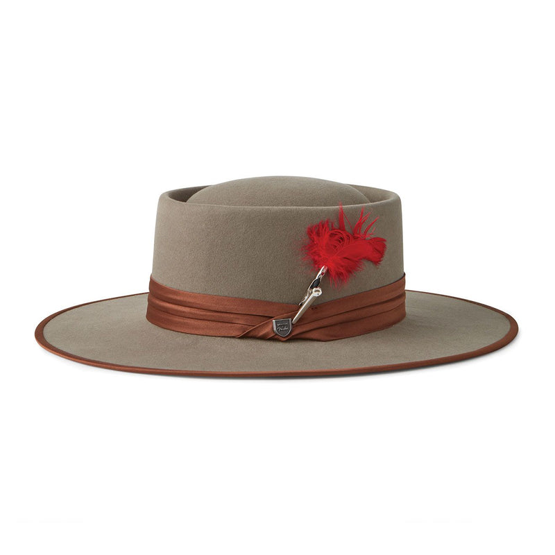 Brixton Fender Flood Fedora - Natural