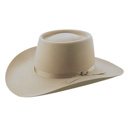 Angle view of Akubra Warrego hat in sand