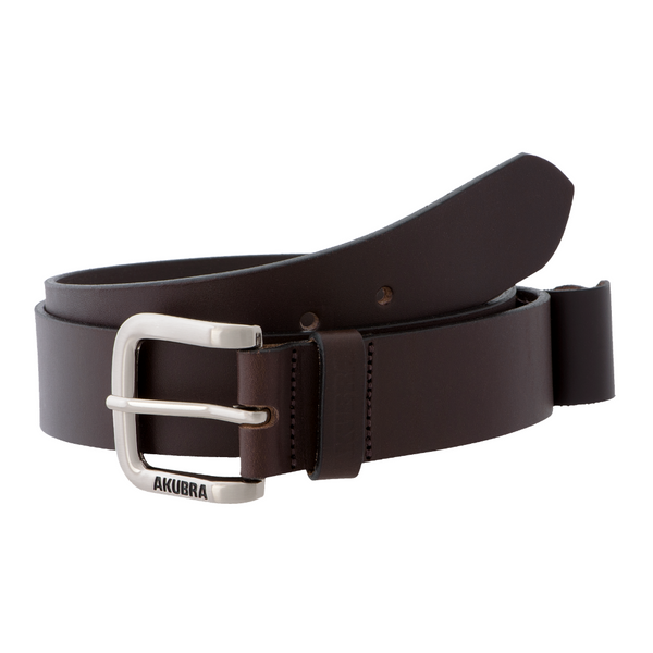 Coiled brown Akubra Koala Belt