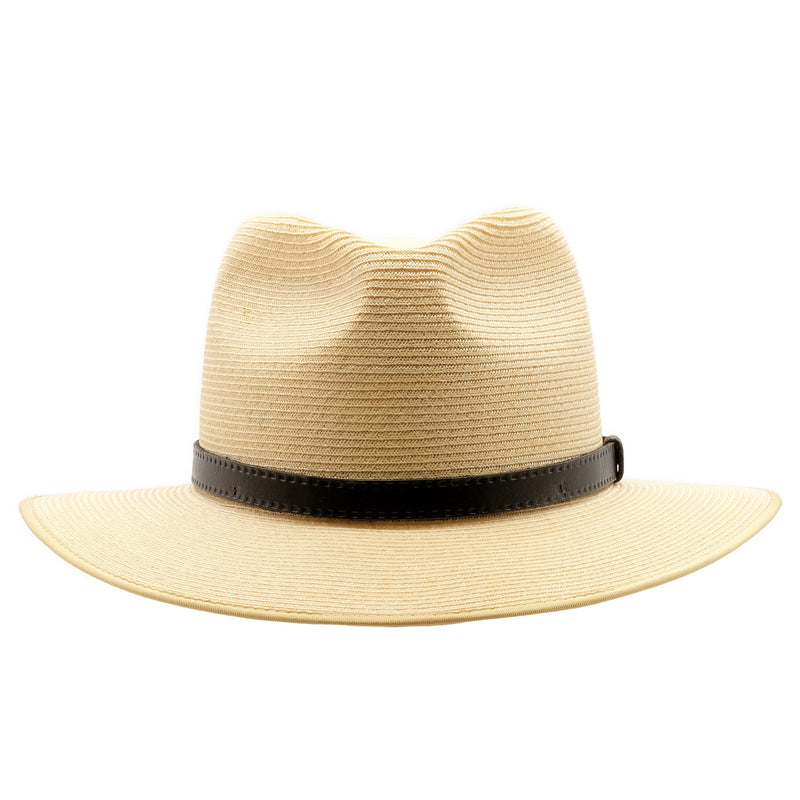 Front view of Akubra Balmoral hat