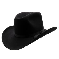 Angle view of Akubra Bobby in Black