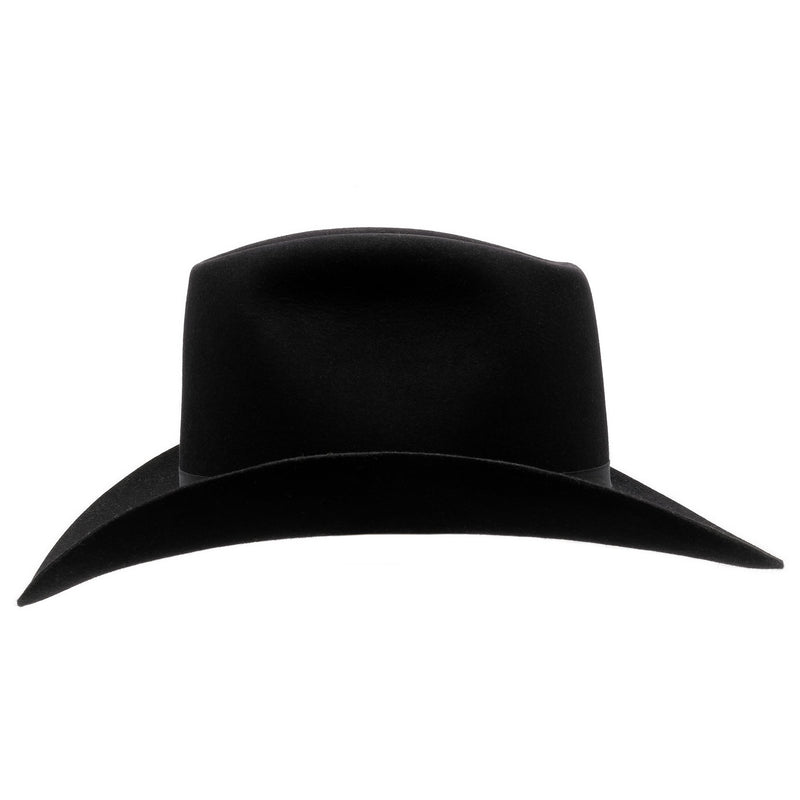 Side on view of Akubra Bobby in Black