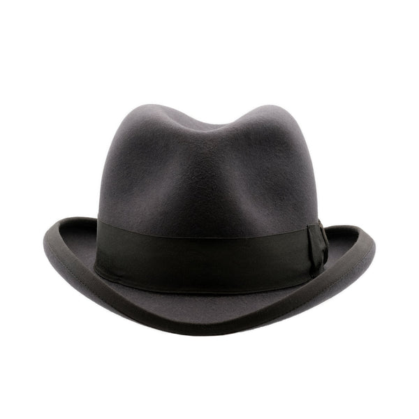 Akubra Homburg - Carbon Grey