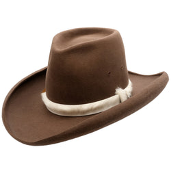 Angle view of Akubra Sombrero hat