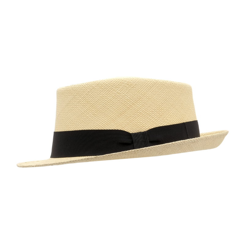 Strand Hatters, side view of Avenel Cuba Brisa Panama #3 - Natural