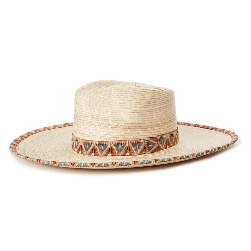 Brixton Joanna Palm hat in Natural