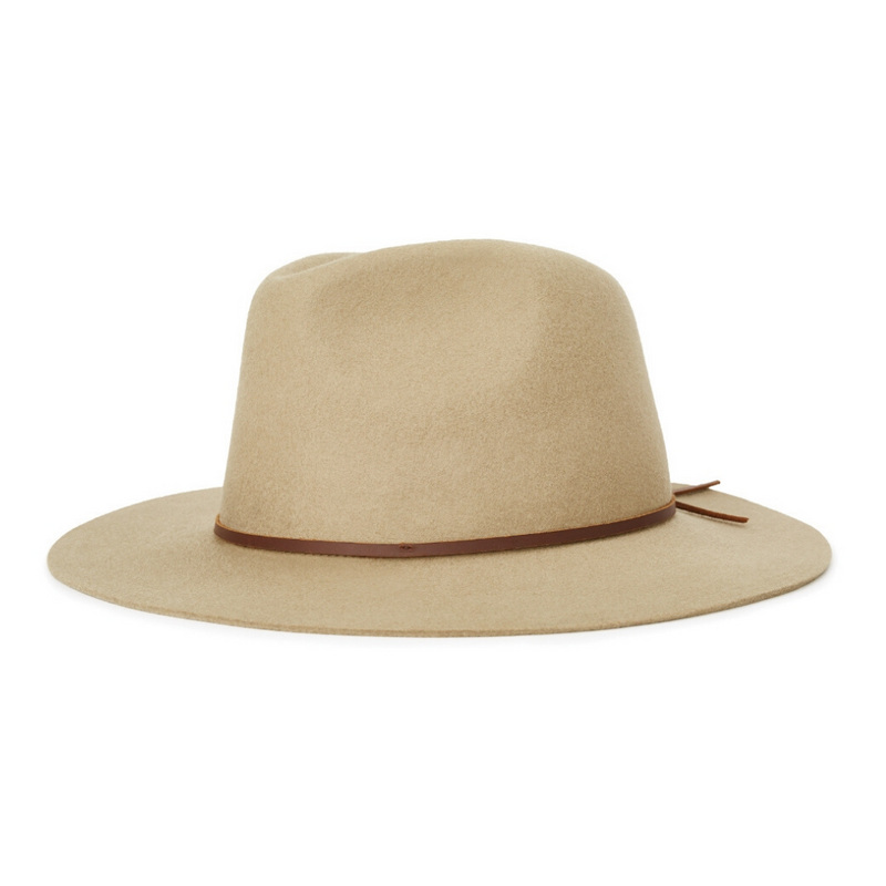 Brixton Wesley fedora in Elmwood colour