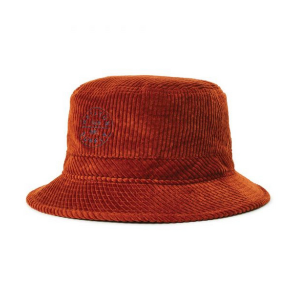 Brixton Oath bucket hat in Picante colour