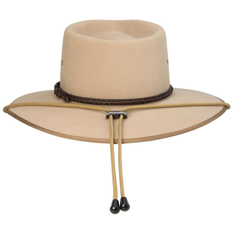 Akubra Chinstrap - Tan Safety - Brisbane Hatters