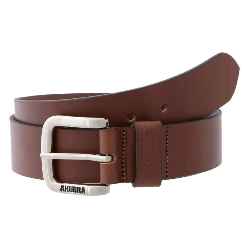 coiled tan Akubra Kempsey Belt