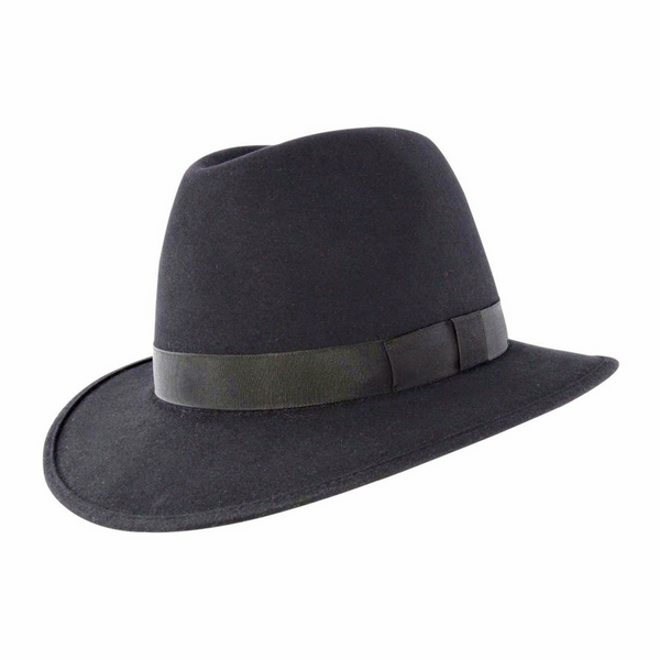 Akubra International hat in carbon grey colour