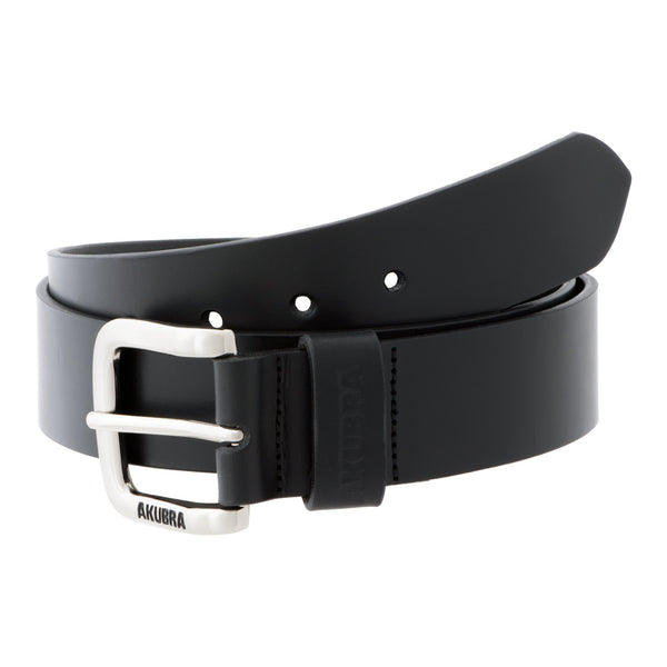 coiled black Akubra Kempsey Belt