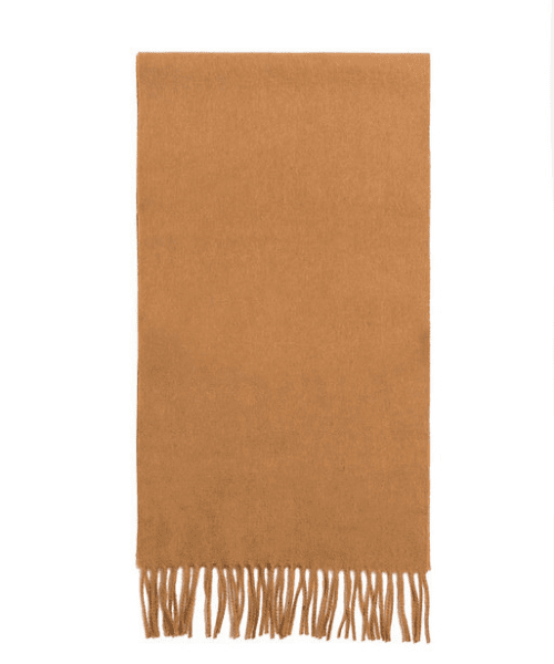 Failsworth Lambswool Scarf - Camel