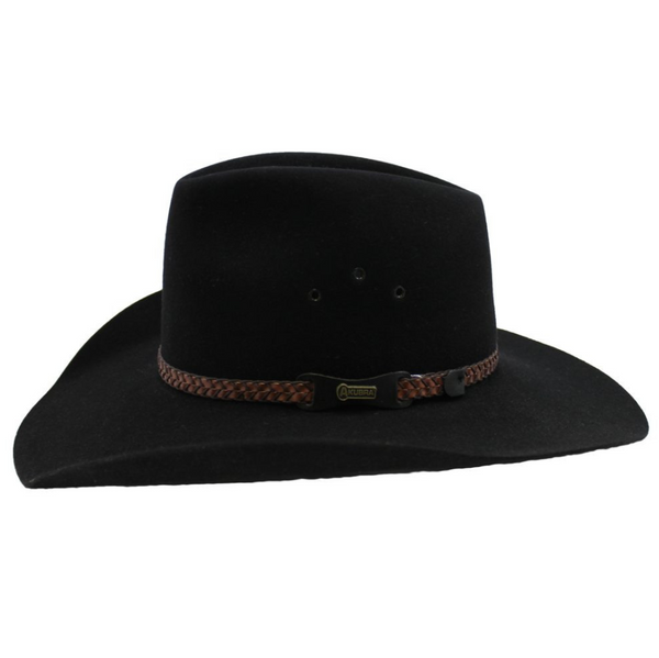 Akubra Golden Spur - Black (SO)
