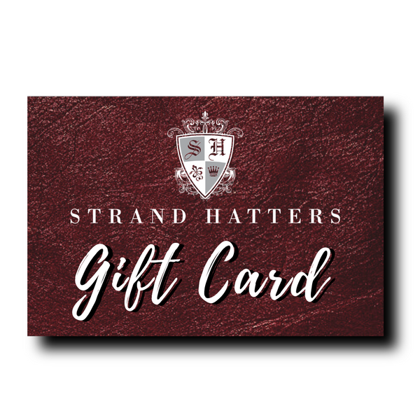 Strand Hatters Gift Card