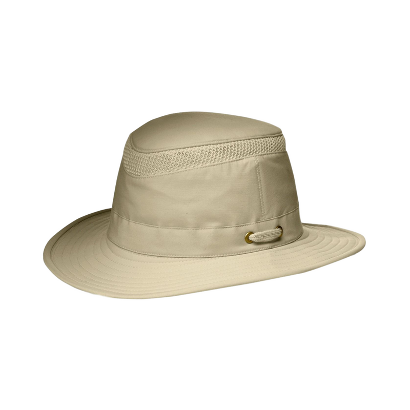 side view of Tilley LTM 5 hat in Khaki / Olive