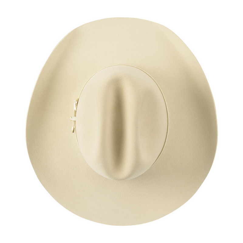 Top down view of Akubra Big Sky in Dune colour