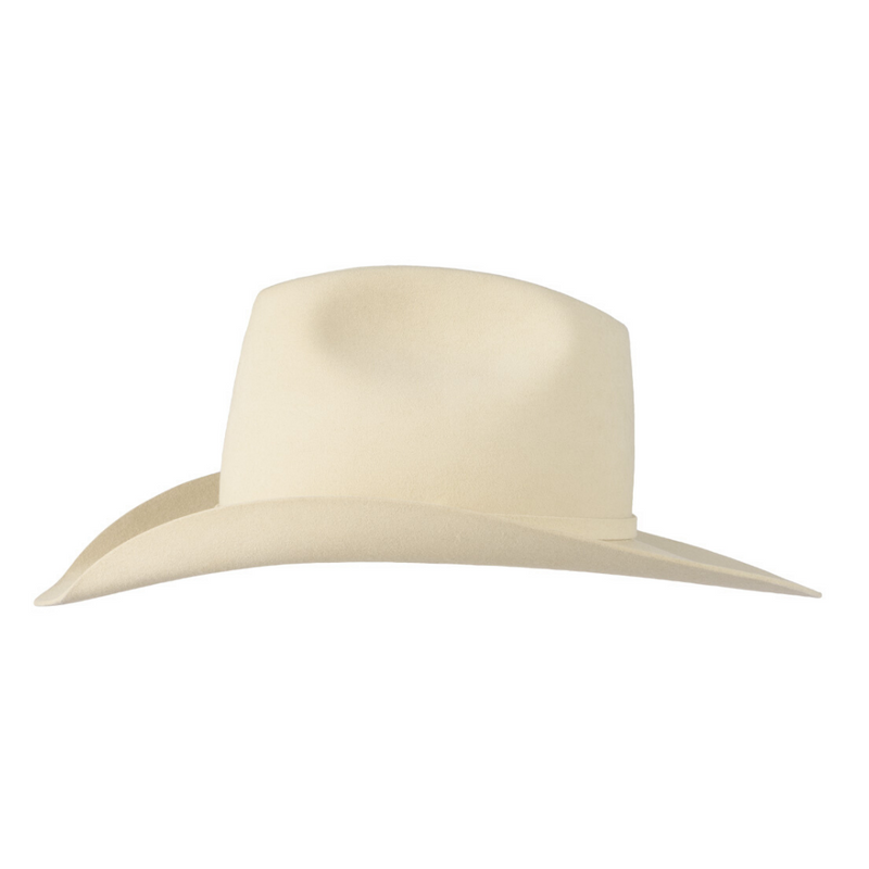 Side view of Akubra Big Sky in Dune colour