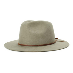 Brixton Wesley fedora in rock colour