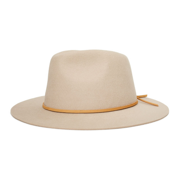 Brixton Wesley fedora in Vanilla colour