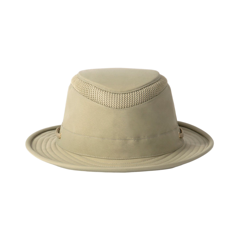 Front view of Tilley LTM 5 hat in Khaki / Olive