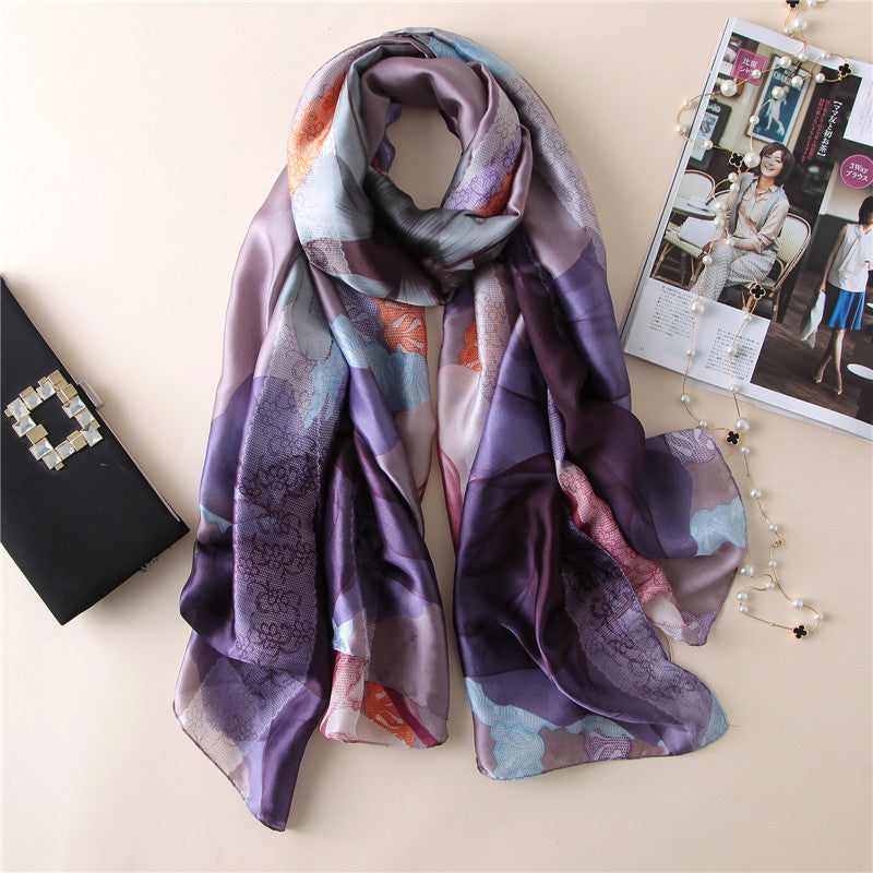 Luxurious Soft Silk Scarf