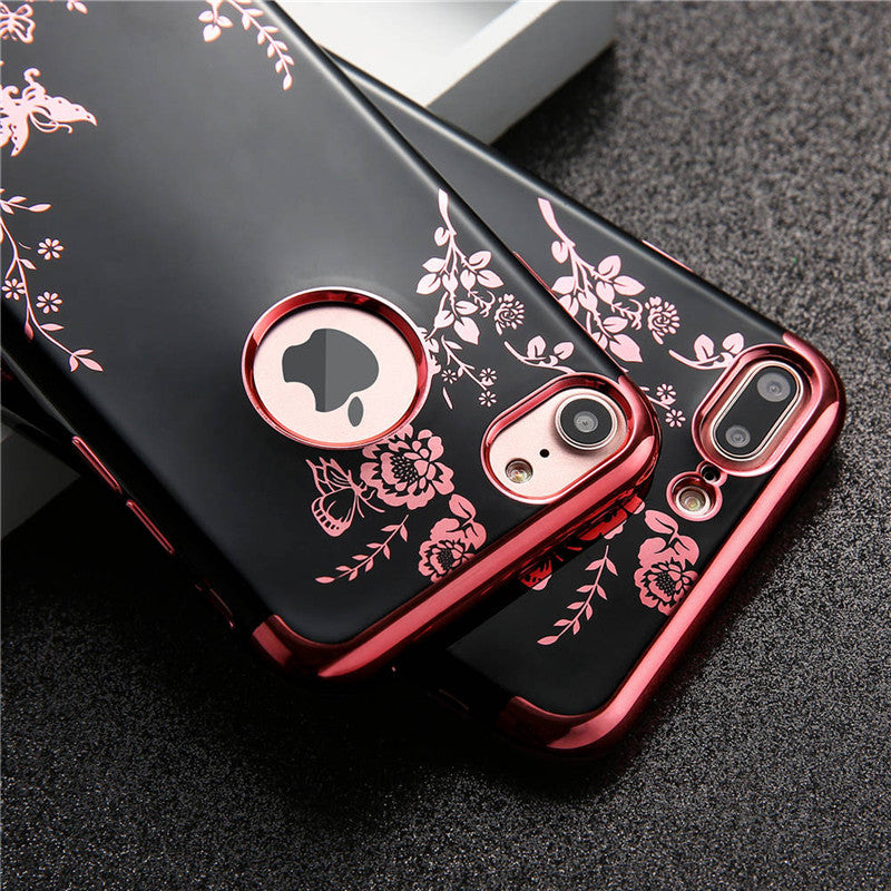 Luxurious Flower iPhone Case