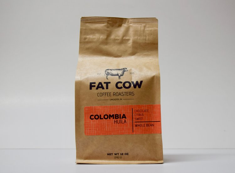 Colombia Hulia - Fat Cow Coffee Roasters - Dript Coffee Co.