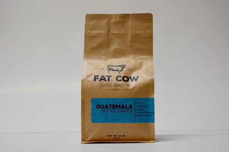 Guatemala Huehuetenango | Fat Cow Coffee Roasters | Dript Coffee Co.