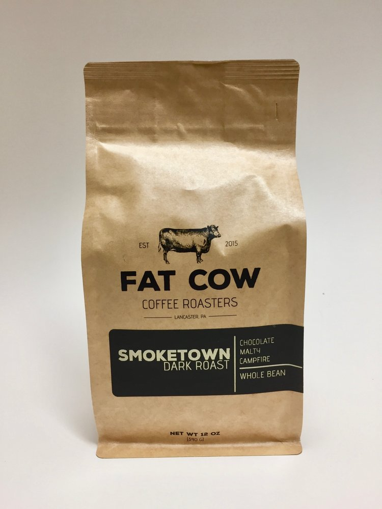 Smoketown Dark Roast - Fat Cow Coffee Roasters - Dript Coffee Co.
