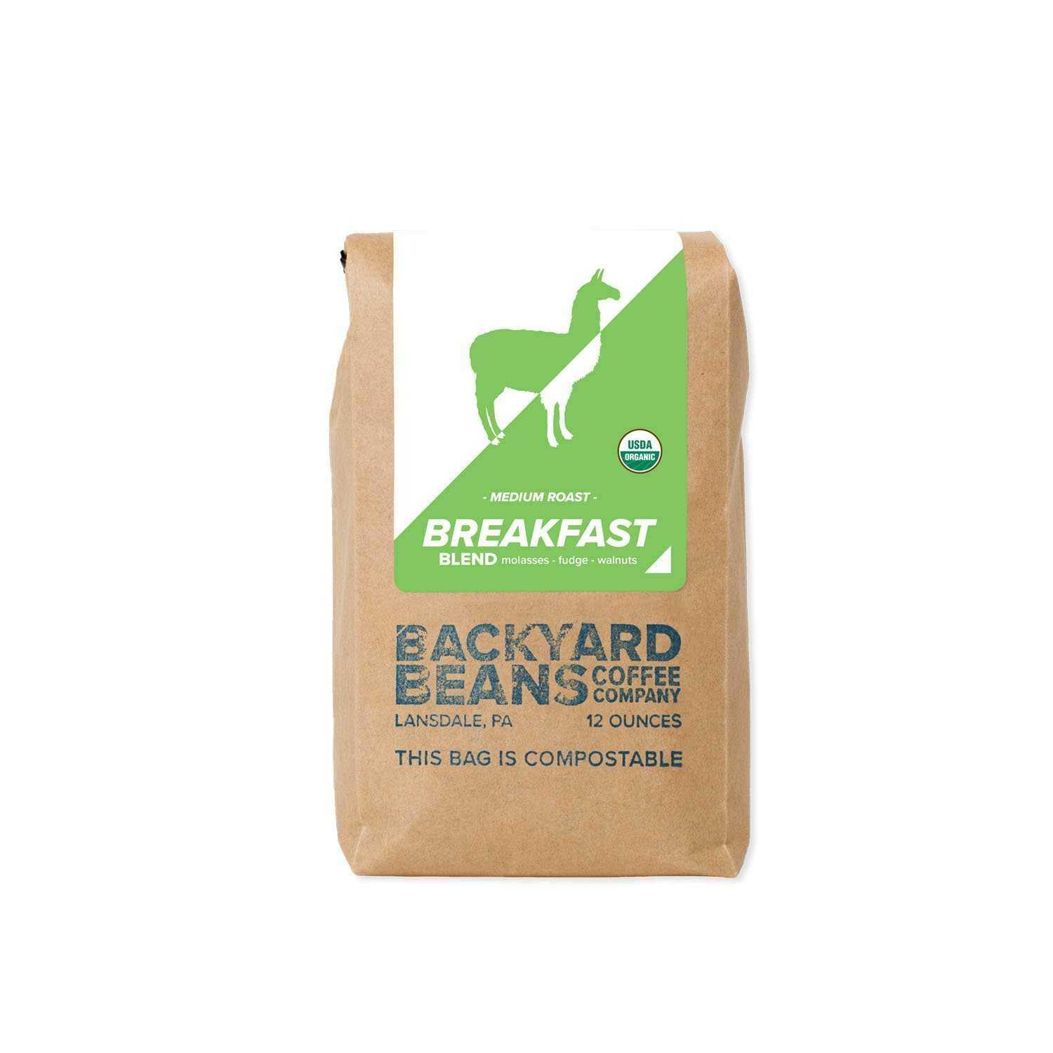 Breakfast Blend | Backyard Beans Coffee Co. | Dript Coffee Co.
