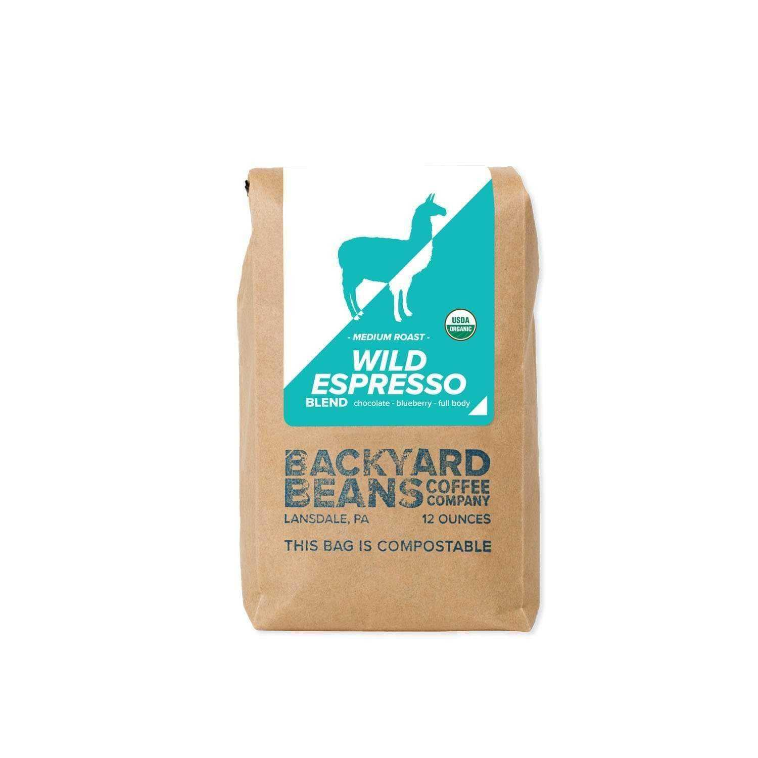 Wild Espresso | Backyard Beans Coffee Co. | Dript Coffee Co.