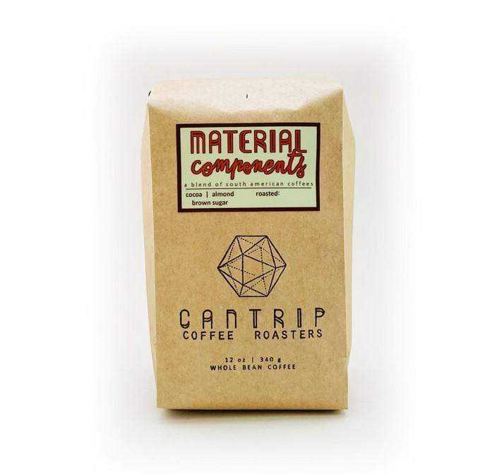 Material Components | Cantrip Coffee Roasters | Dript Coffee Co.