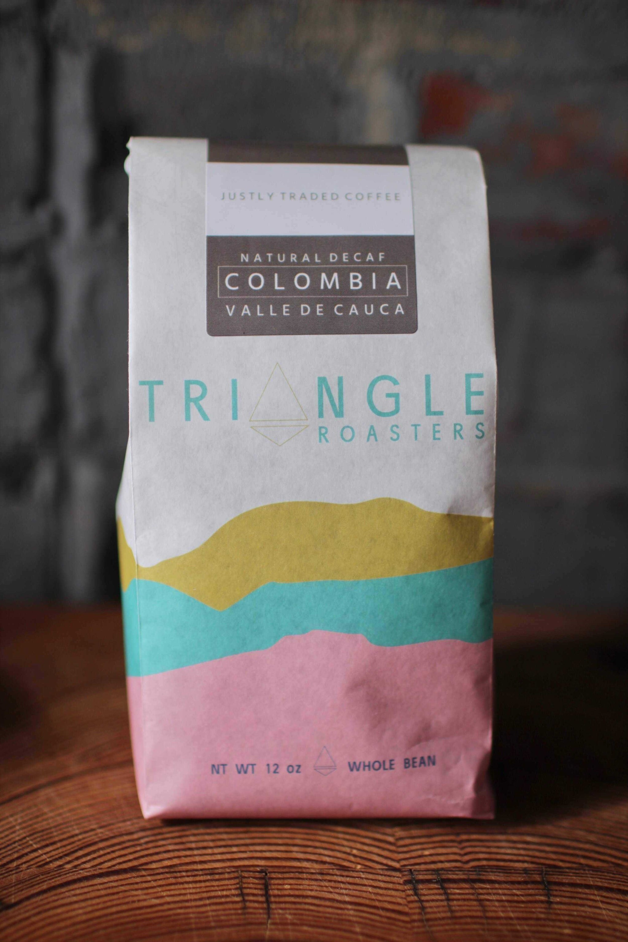 Decaf Colombia Valle Del Cauca | Triangle Roasters | Dript Coffee Co.