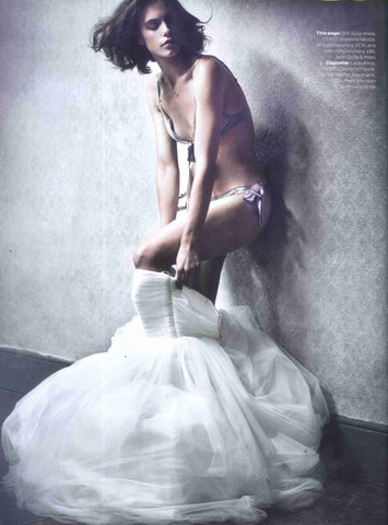 GILDA & PEARL BRIDAL LINGERIE ELLE WEDDINGS